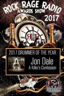 Rock Rage Radio Drummer of the Year 2017