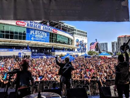 98 Rockfest 2018 Tampa FL, Amelie Arena (Plaza Stage)